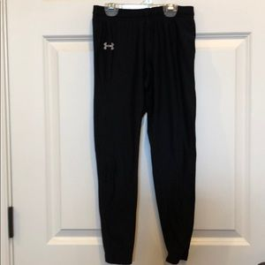 Under Armour YL black compression tights